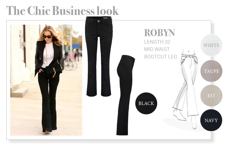 The Chic Business look, Fit Robyn, Para Mi