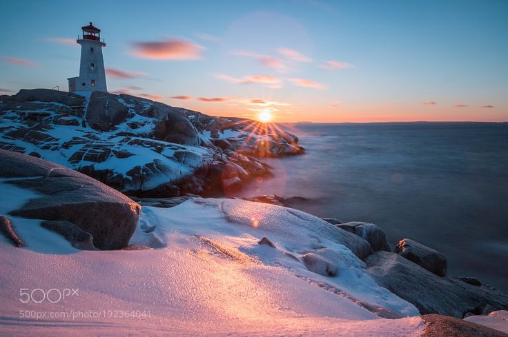 Popular on 500px : peggys cove by christoph-schaarschmidt