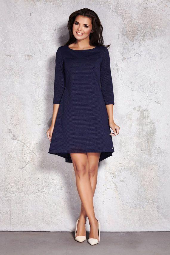 Elegante kleider dunkelblau