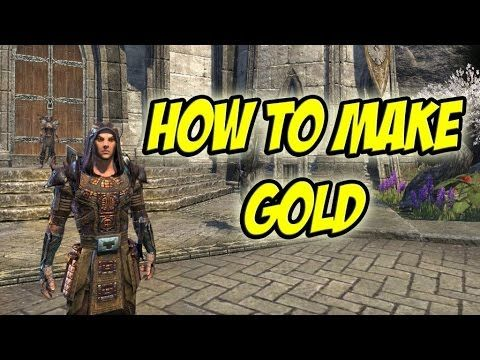 Elder scrolls online / Easy Money / 20-50K Per Hour / New Players