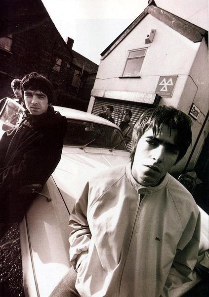 Oasis. Noel & Liam Gallagher. Manchester. Uk.