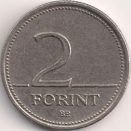 Wertseite: Münze-Europa-Mitteleuropa-Ungarn-Forint-2.00-1992-2008