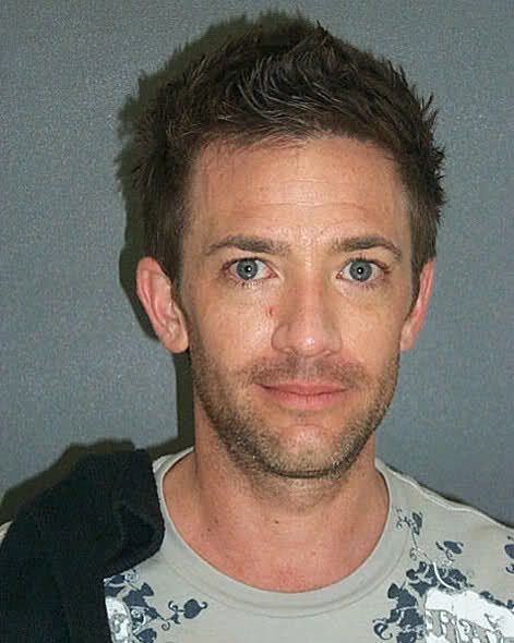 David Faustino was arrested in May of 2007 in New Smyrna Beach, FL after police witnessed Faustino yelling profanities at his ex-wife in the middle of an intersection. When the cops discovered weed on the actor, the handcuffs came out, leading to this mug shot.