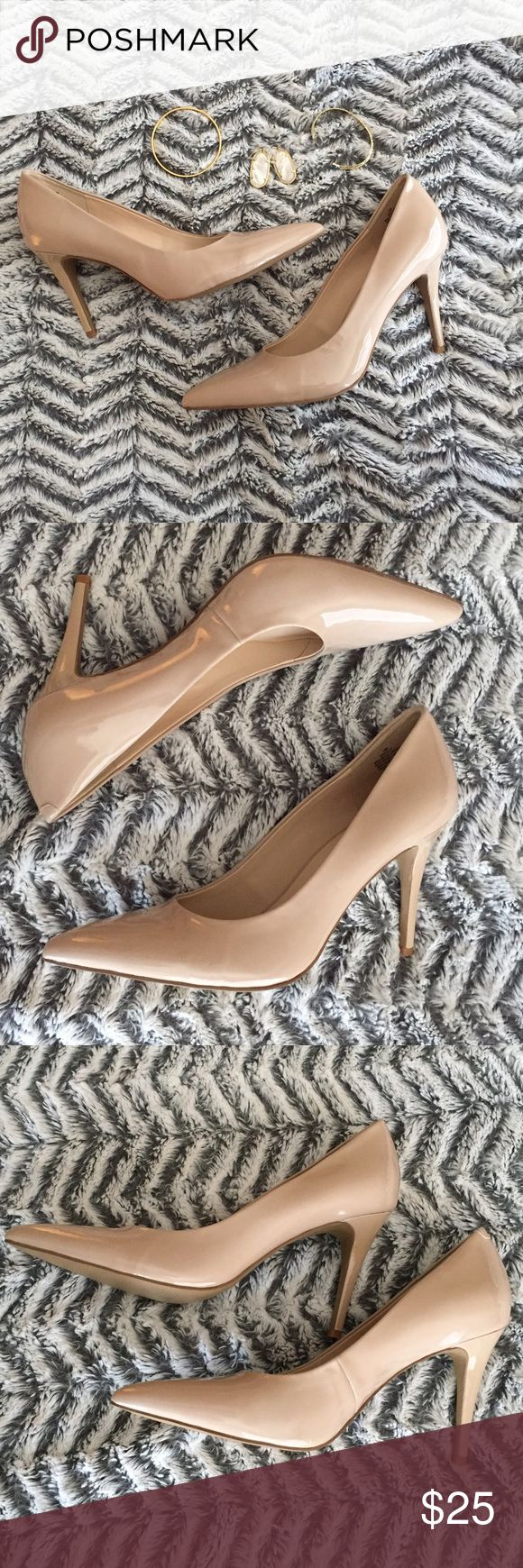 NWT Nine West Heels NWT Nine West Heels in nude. Never worn- new with tags. These match EVERYTHING! I hurt my foot and I can't wear heels anymore. Hoping someone can wear these! 💰SAVE 15% with a bundle of 3 or more!💰Serious offers accepted ✅ Nine West Shoes Heels