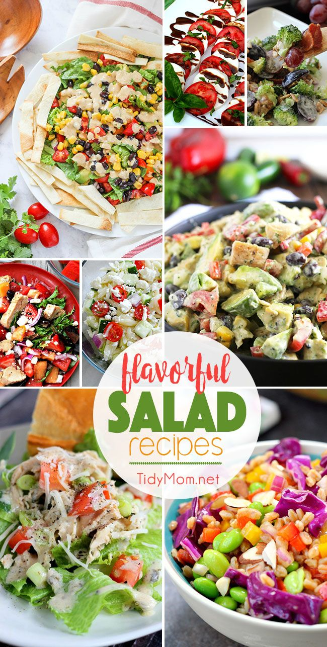 Salads are great any time of year, but in the summer, it's a whole other ball game!! The bounty of fresh produce in season, makes for incredibly…