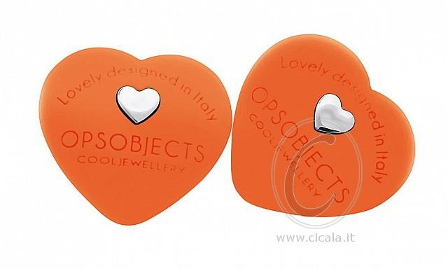 ❤ OPS! Earrings ❤ @ only €28,00 Register NOW on www.cicala.it for discount! Orange color!