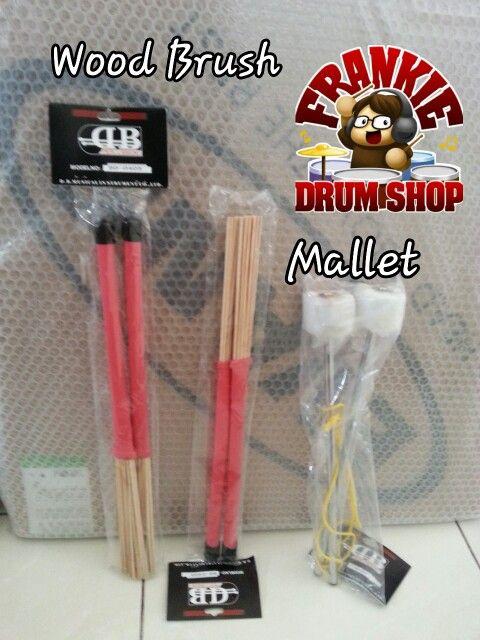 Wood Brush &Mallet