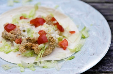 Fried Oyster Tacos Recipes. #Recipes | Savory Things | Pinterest