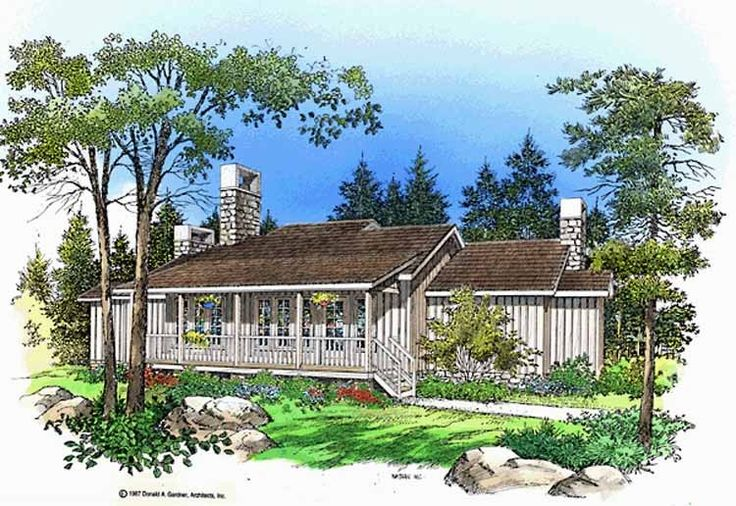 Eplans Farmhouse House Plan All The Sought After Features 1299 Square Fee
