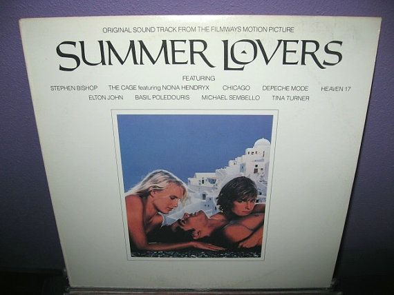 VINYL LOVE SALE Rare Vinyl Record Summer Lovers от JustCoolRecords