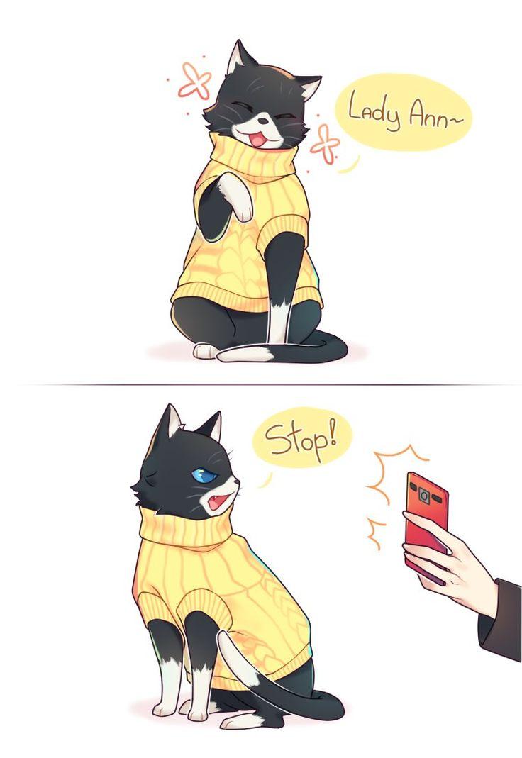 Persona  Morgana Cat Irl