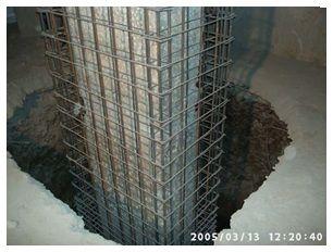 Tehnologii de camasuire a stalpilor din beton armat.- Structuri An VI