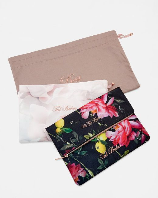 Laundry bag set - Black | Gifts For Her | Ted Baker NEU