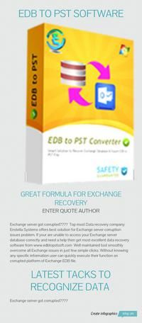EDB to PST Software - Fix Exchange EDB file and convert Exchange EDB file to PST file