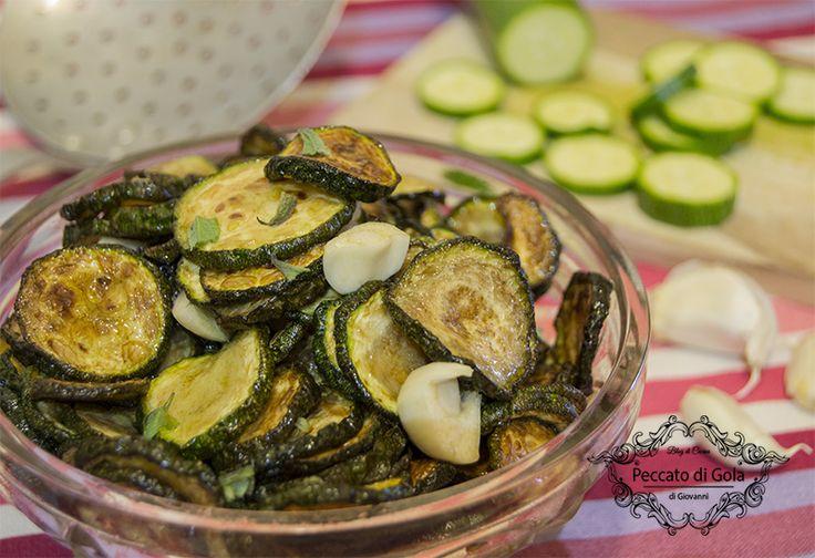 ricetta zucchine alla scapece, peccato di gola