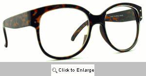 Bugs Big Clear Lens Glasses - 576 Tortoise