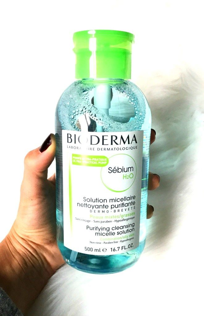Have You Tried Cleansing Water Yet?   Bioderma & Garnier Skin Care - If you have not tried cleansing water, I highly recommend it! It is the perfect way to simplify your skin care routine while improving your skin. My two favorites are Bioderma Sebium H2O or Garnier Micellar Cleansing Water These are perfect for makeup removal and oily, acne-prone, or combination skin types.