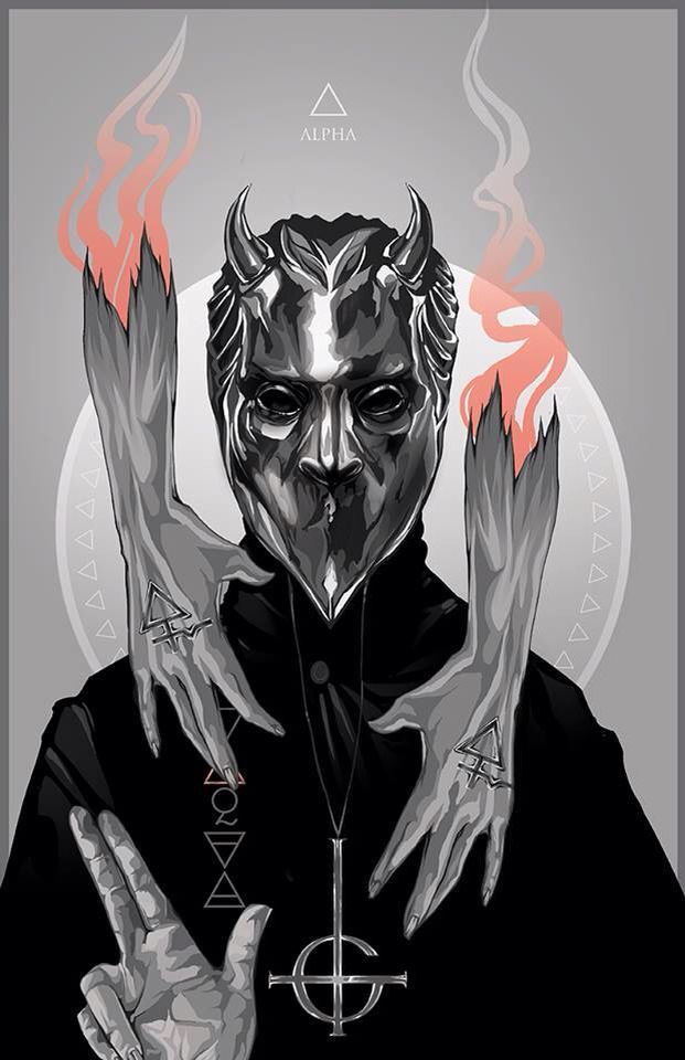 Ghost.alpha. Nameless Ghoul. Alexis Moore