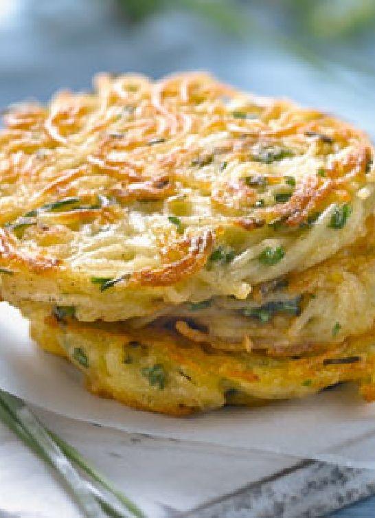 Low FODMAP & Gluten free Recipe - Zucchini & potato rosti
