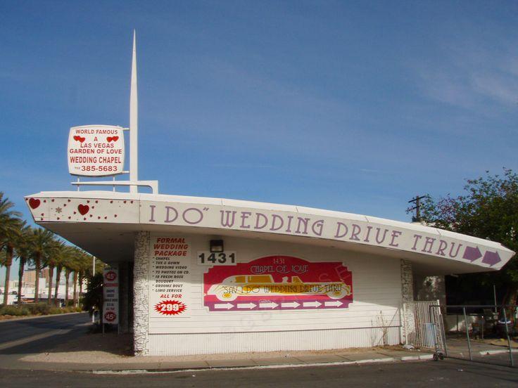 """Las Vegas - La chapelle """"Drive"""" de mariage"""