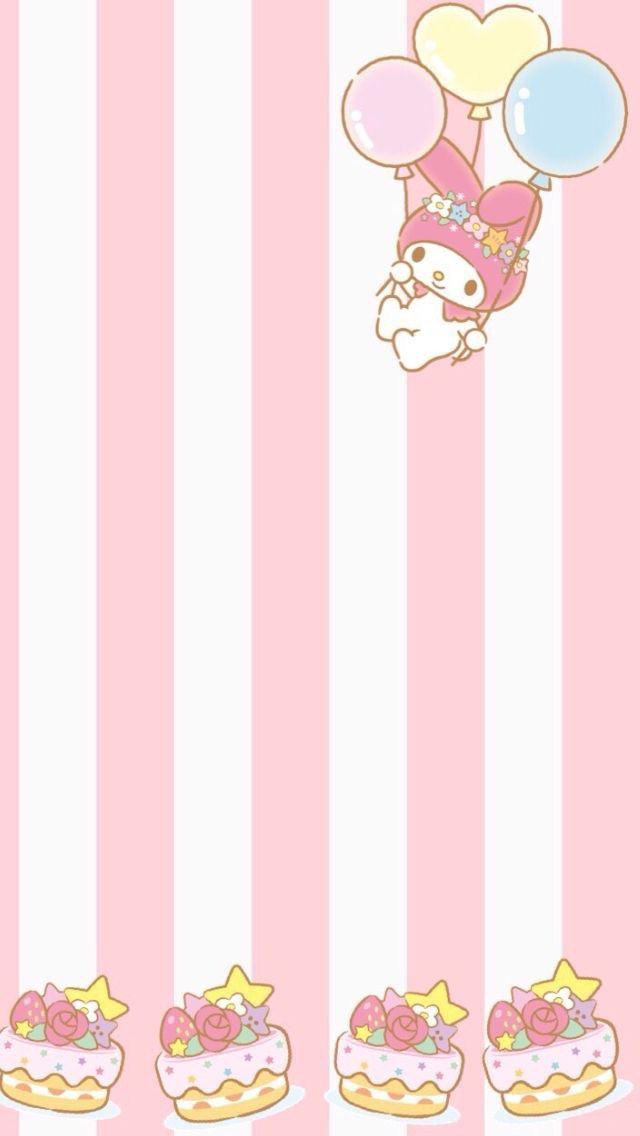17 Best Ideas About My Melody Wallpaper On Pinterest My Melody Sanrio And Little Twin Stars