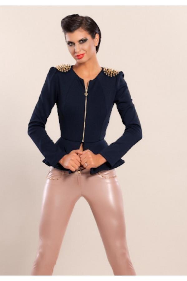 Sacou dama cu tinte aurii! Share daca iti place!   #sacoutinte #sacoudama #sacouri2013