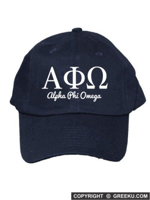 Alpha+Phi+Omega+Collegiate+Curves+Hat