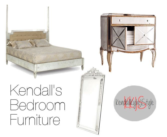 Kendall S Exact Bed Is From Glam Furniture And Is