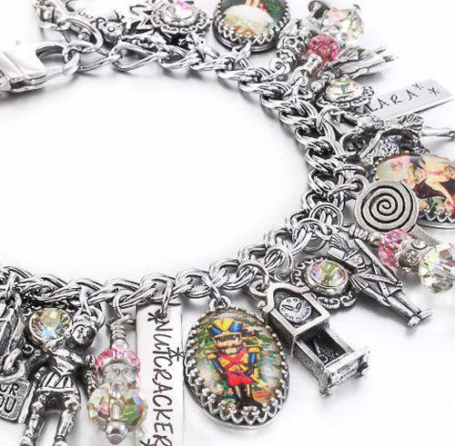 The Nutcracker Charm Bracelet, Christmas Jewelry, Holiday Jewelry, Christmas Charm Bracelet - Blackberry Designs Jewelry