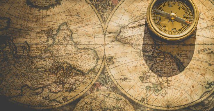 Beige Analog Compass · Free Stock Photo