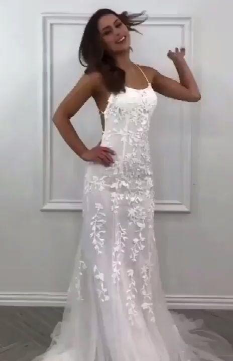 Lace Prom Dress Open Back, Prom Dresses, Evening Dress, Dance Dress, Graduation School Party Gown, PC0414