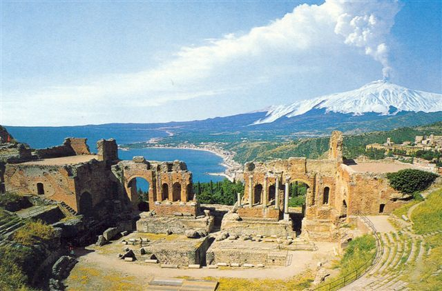 Ancient theater, Taormina (Sicily)