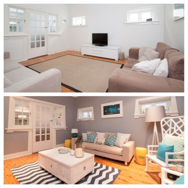 Take the Taubmans decorating challenge and fall back in love with your home #beforeandafter #paint #home #decorating