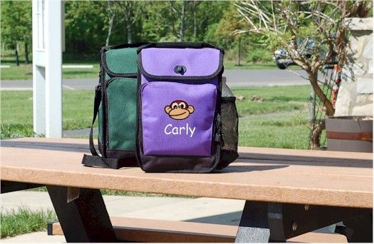 Kids Travel Zone - Lunch Bag, $24.99 (http://www.kidstravelzone.com/lunch-bag-personalized-kids-backpacks/)