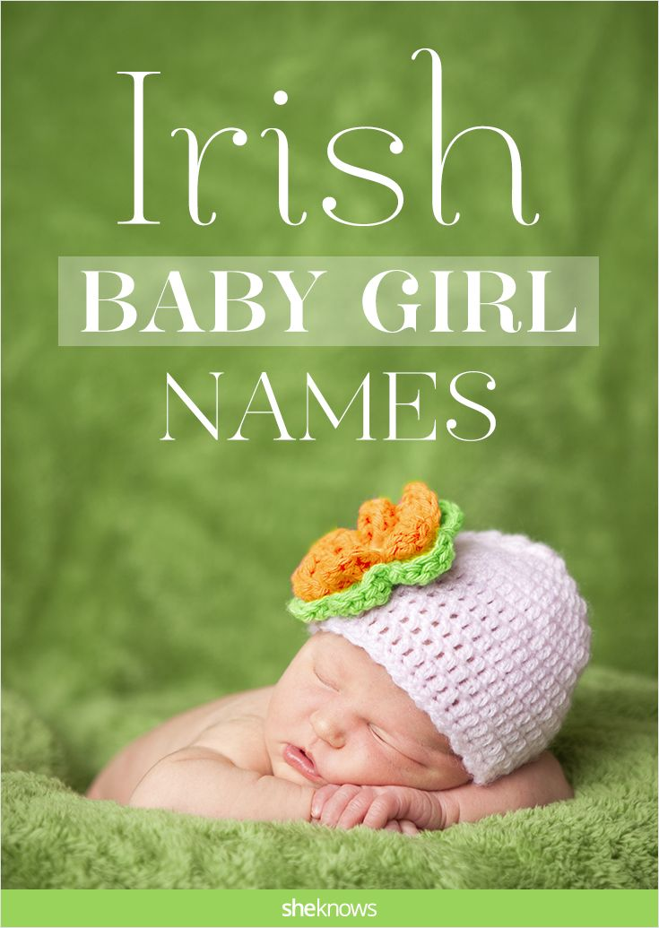 Irish baby girl names and meanings — Sinead, Delaney and more