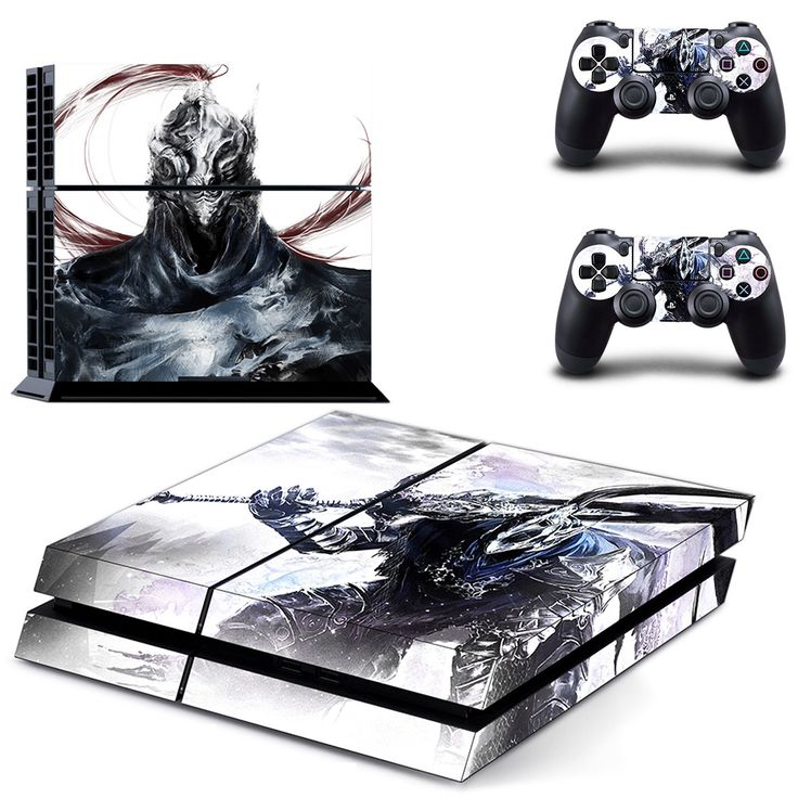 dark souls 3 ps4 skin for console and 2 controllers