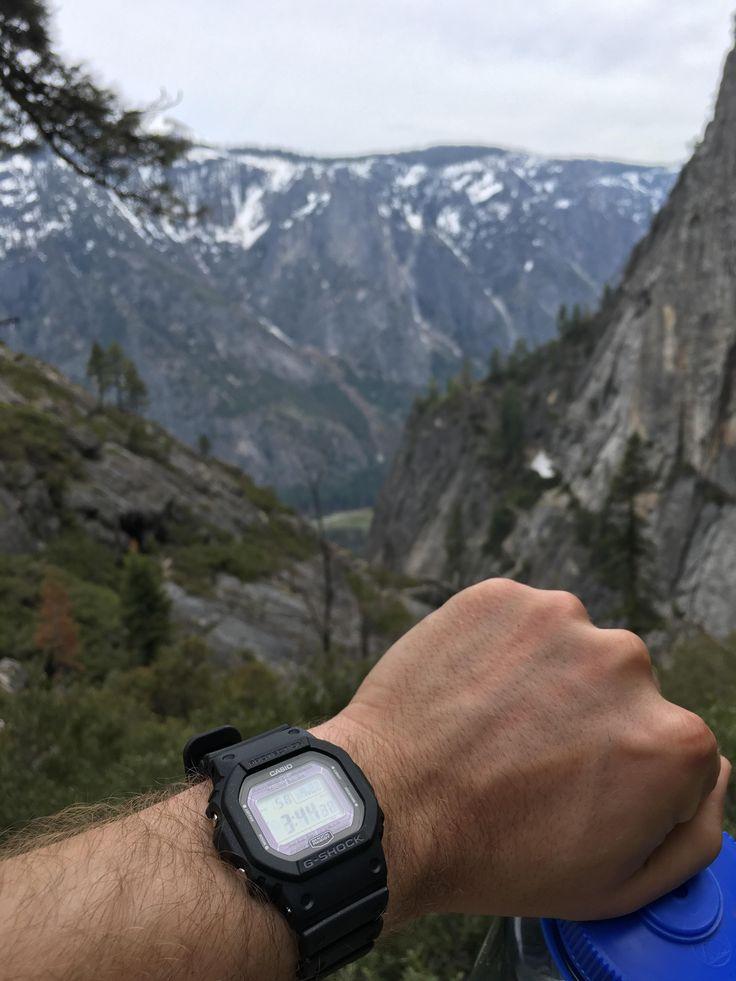 [Casio] GW-5000-1JF traveling through Yosemite