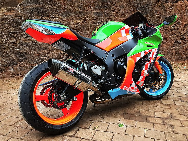 The Speed Scream | Kawasaki ZX10  pained by PAZ.