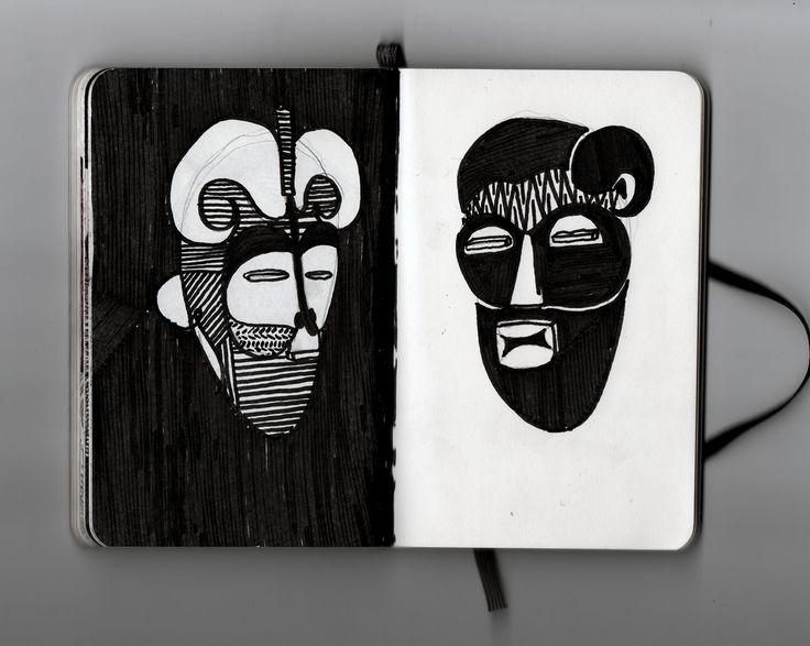 2 mascaras
