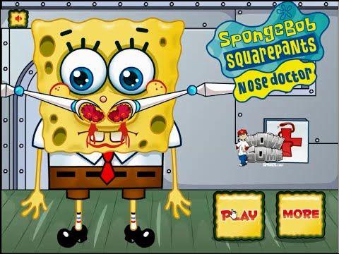 SpongeBob Squarepants Nose Doctor Online games - spongebob full episode - cartoon games - Best sound on Amazon: http://www.amazon.com/dp/B015MQEF2K -  http://gaming.tronnixx.com/uncategorized/spongebob-squarepants-nose-doctor-online-games-spongebob-full-episode-cartoon-games/