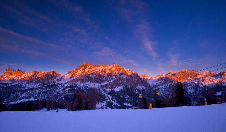 Alta Badia in the Dolomites