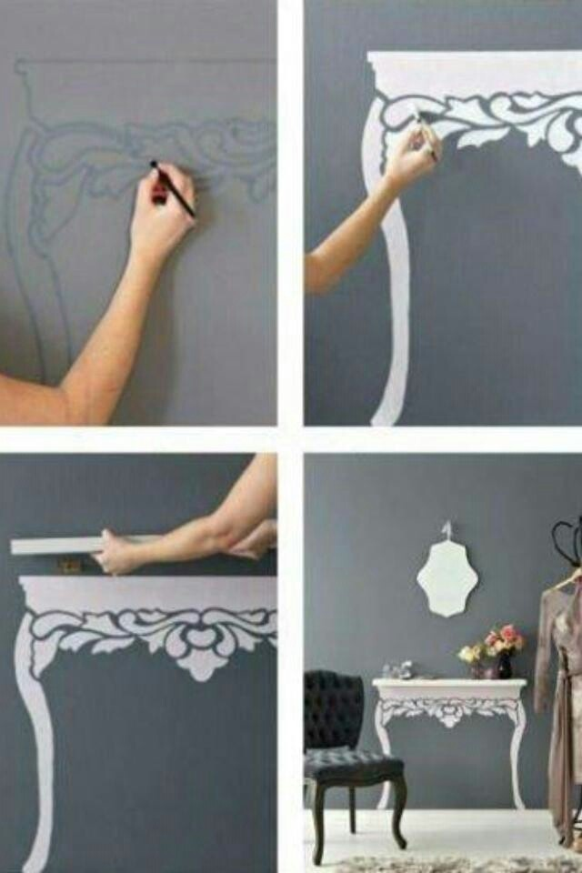 I saw this a few weeks ago and thought it was just awesome! Totally want to do this in my new house!