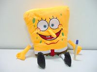 Boneka spongebob karakter lucu