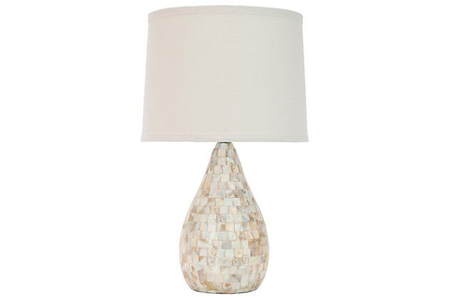 Shell Gourd Shaped Table Lamp Ashley Furniture Homestore Lamp Shell Lamp Table Lamp