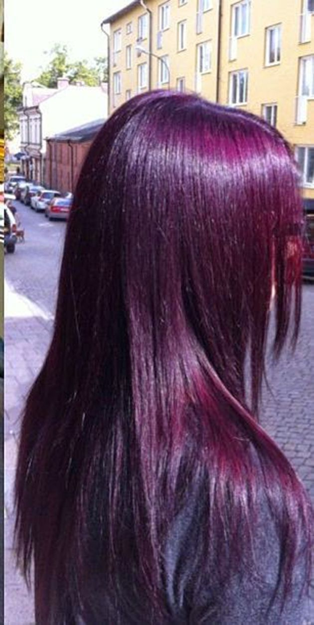 coloration violet plus - Coloration Cheveux Violet Fonc