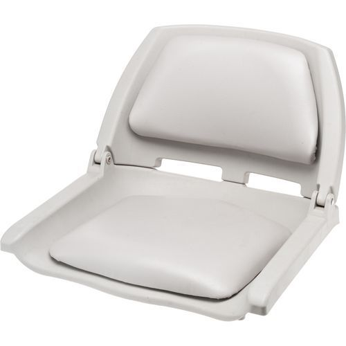 Marine Raider Padded Fold Down Boat Seat Gray - Marine Supplies, Boat Seats And Accessories at Academy Sports