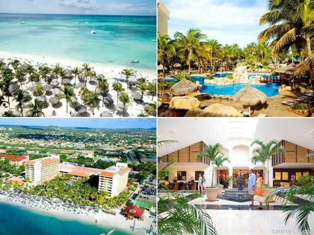 The many awesome views of the Occidental Grand Aruba. I am determined to win this #Aruba trip #aioutlet
