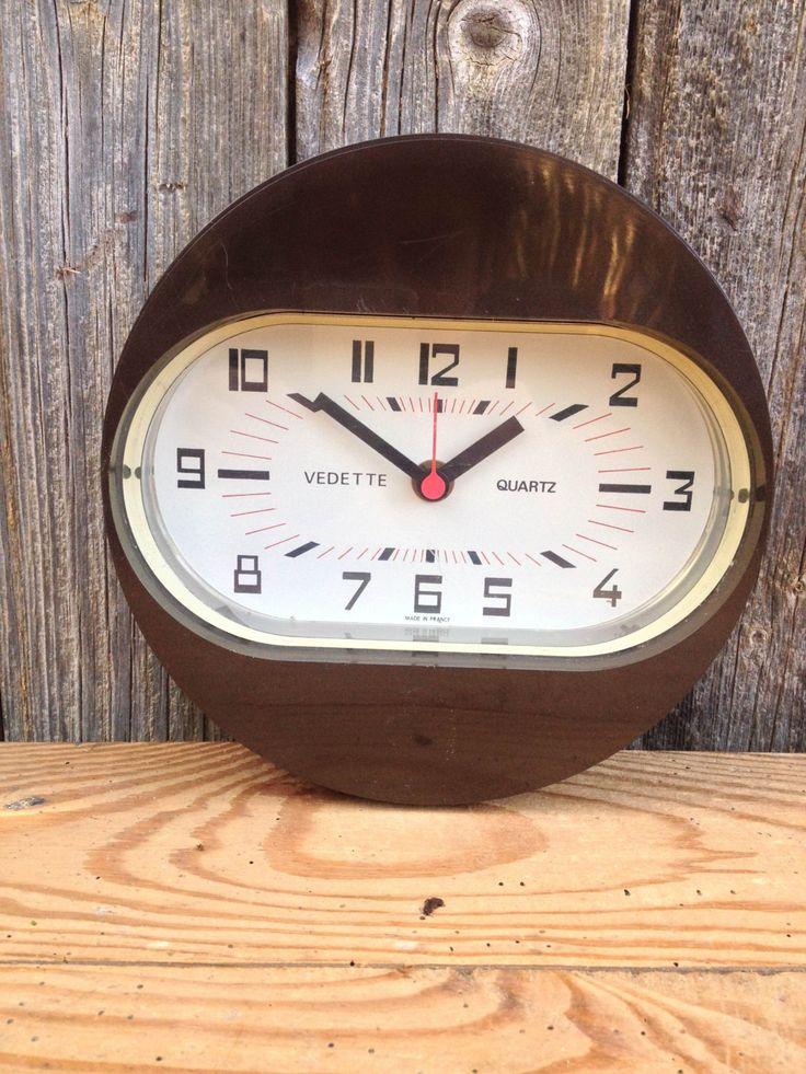 1000 id es sur le th me pendule murale sur pinterest for Horloge murale 3 cadrans