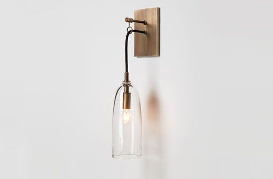 Lure Sconce by Alison Berger from Holly Hunt