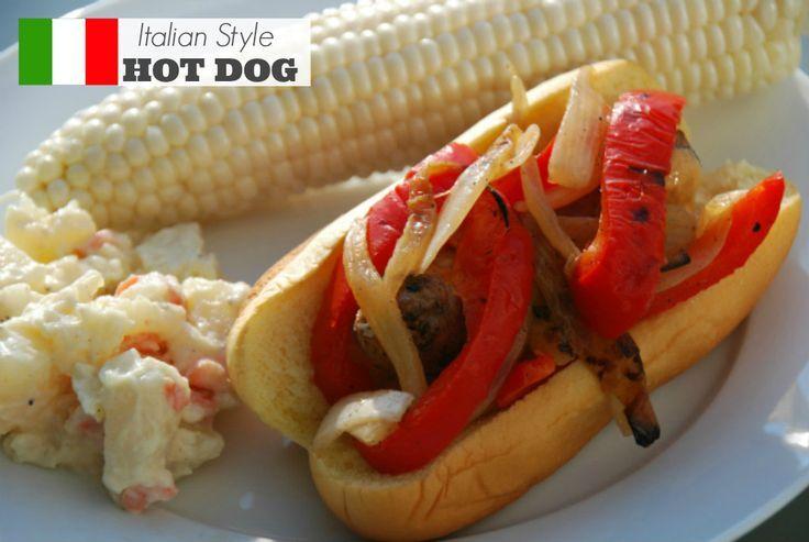 Hot Dog Italian